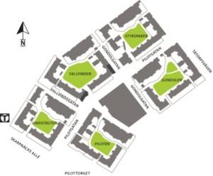 Karta över Vingen